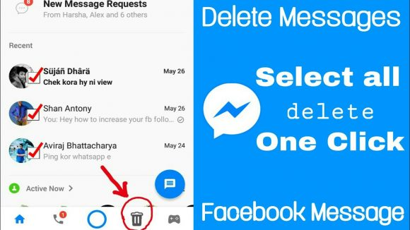 löschen Sie Ihre Facebook Messenger-Nachrichten